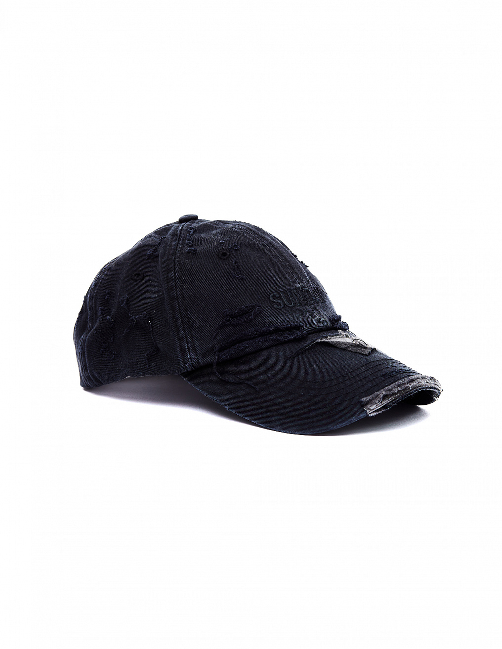 Sunday Distressed Cap Vetements - buy