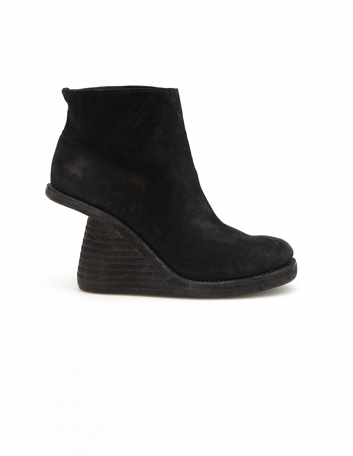 Suede ankle boots Guidi
