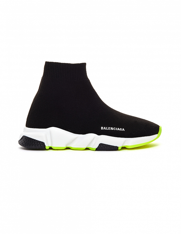 Black Speed Trainer Sneakers Balenciaga Kids