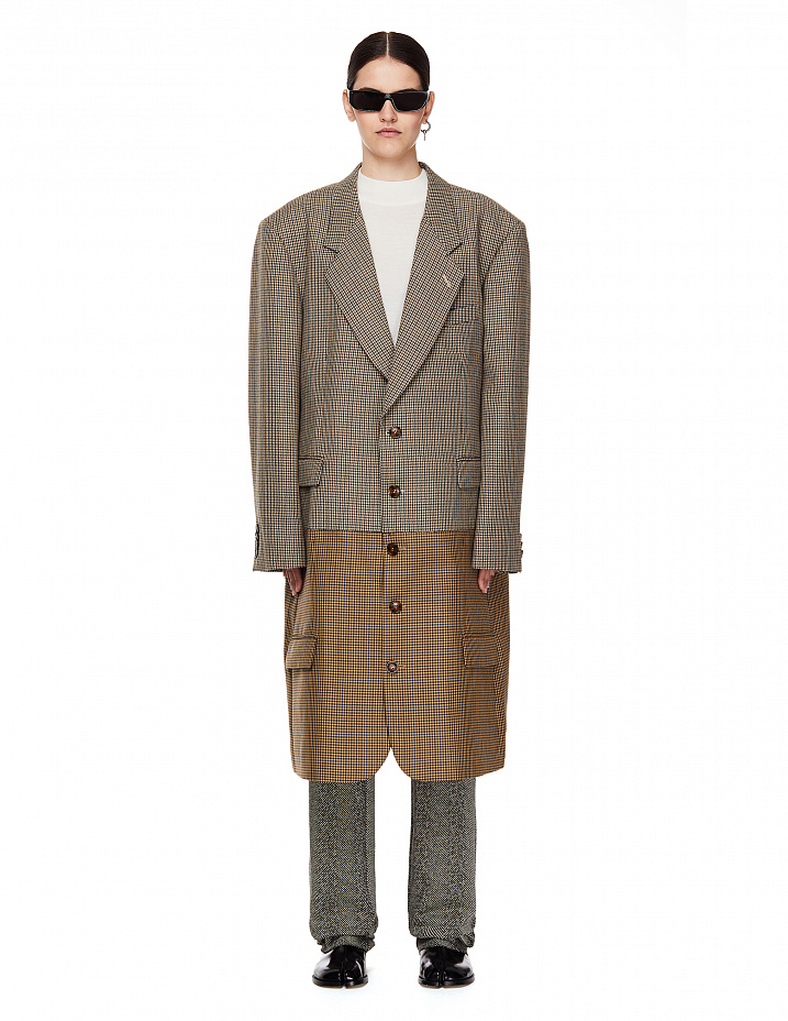 Beige Coat Vetements