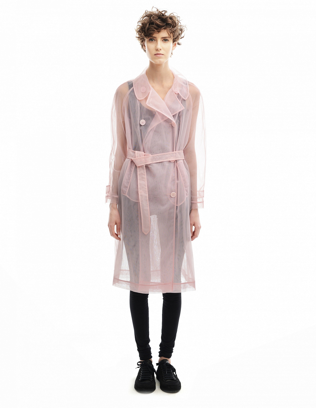 Polyamide trench coat Simone Rocha - buy